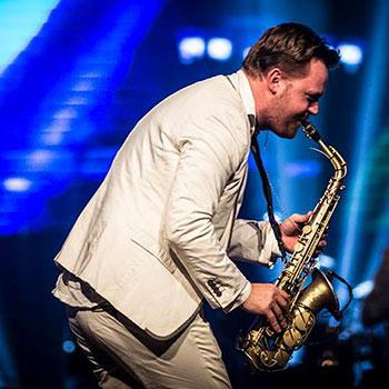 saxofonist-bruiloft